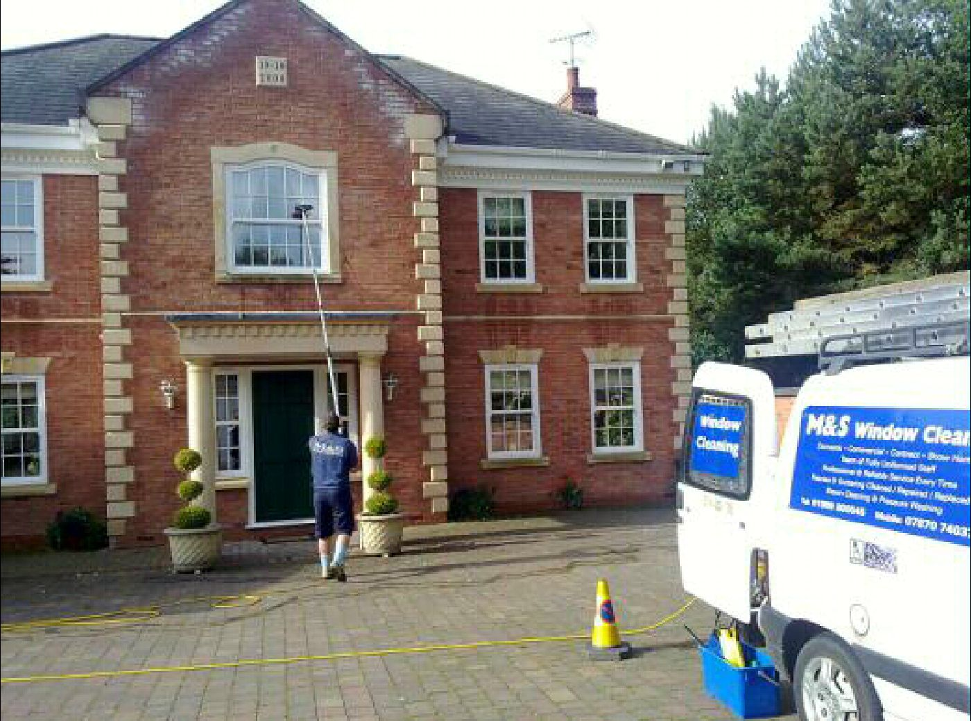 M Amp S Window Cleaning Rugeley Staffordshire