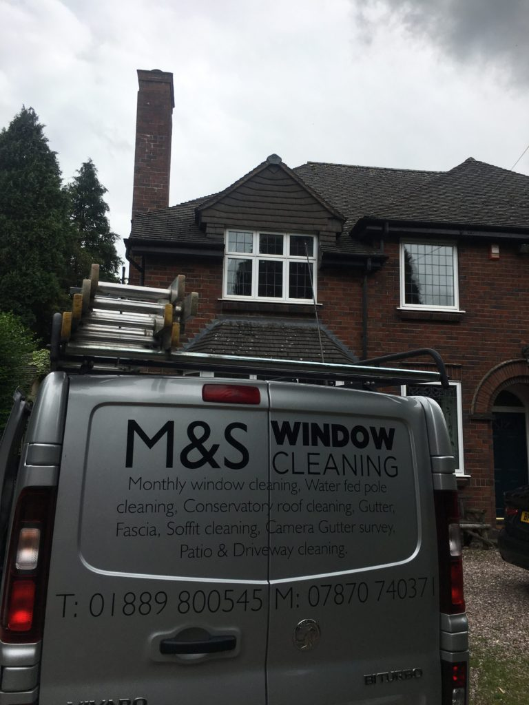 Staffordshire  window cleaning services We are reliable and affordable, our services are easy to book and guaranteed to meet all your requirements. gutter cleaning, unblocking  upvc fascias, Soffitt,  cleaning  gutter repairs Conservatory Cleaning  Block paving, Drive Cleaning window cleaning