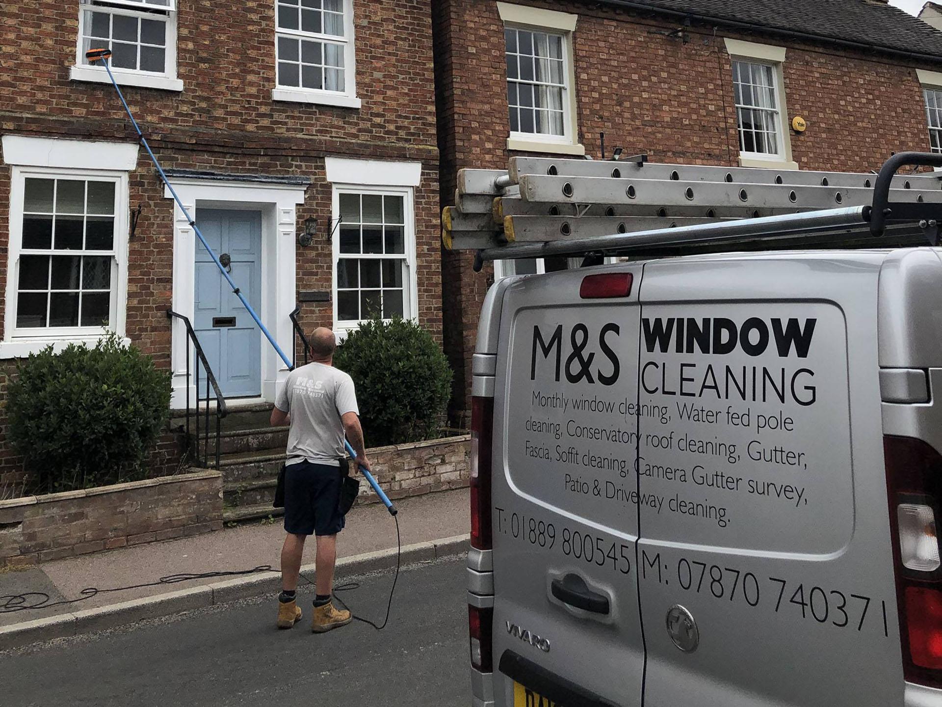 Window cleaner in Rugeley
